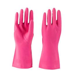 80g guanto in lattice per uso domestico rosa, guanto in gomma, i nostri prodotti sono disponibili in molti stili