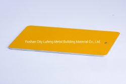 PVDF는 외부 건축을%s 전 그려진 알루미늄 편평한 장을 입혔다