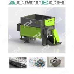 Geschlossenes Systems-Schnee-Beweis-Zerkleinerungsmaschine und Reißwolf für die Abfall-Plastiktrommel-Plastikrohr-Profil-Flaschen-Einspritzungen steif und die flexiblen Film-Raffiabast-Beutel