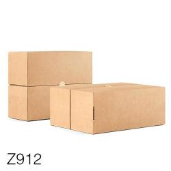 Z912 Chaussures de gros de l'emballage imprimé personnalisé du papier kraft Box l'emballage personnalisé Case, Paper Box Packaging & emballages papier Case, le papier boîte à chaussures