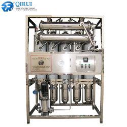 Macchina riscaldata a vapore dell'acqua distillata di effetto multiplo