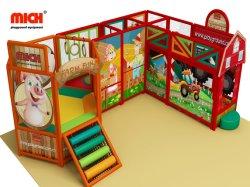 مموّن رخيصة سعر صنع وفقا لطلب الزّبون إعلان كبيرة جدي ليّنة ملعب تجهيز لعب أطفال ملعب كبيرة بلاستيكيّة داخليّ