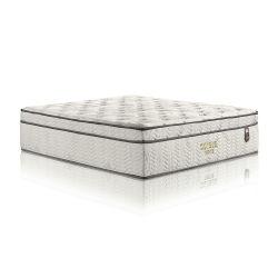 Het broodje omhoog verpakte individueel de Matras van Koningin Size Latex Foam Pocket de Lente