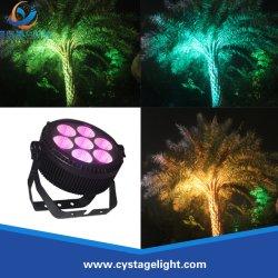 Mejor PAR nunca! Tamaño mini+Alta potencia de 7X25W 5en1 Lavado de LED de luz