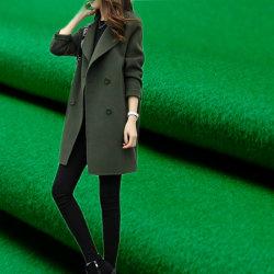 El 5%95%de Nylon tejido de lana para dama y hombre abrigo Coat chaqueta
