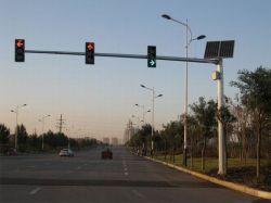 ضوء إشارة المرور LED الشمسية الجديد بجهد 12 فولت وقدرة 24 فولت