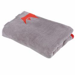 Promoção de Projeção de luxo Cinza Micro Martas cobertores na China