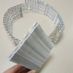 Échange de chaleur du radiateur en aluminium Water-Cooled tabulation fin pour une énergie nouvelle voiture du véhicule