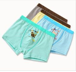 2019 nuovo Design Moda Bambini Underwear Boxers Brief Brand Striped Boys Boxers Shorts, intimo Boys in cotone