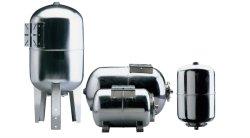 Tanks van de Uitbreiding van het Water van het Roestvrij staal van de druk de Horizontale van 100 Liter