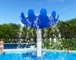 ガラス繊維材料から成っているきのこ水公園水スプレーのおもちゃを注ぎなさい