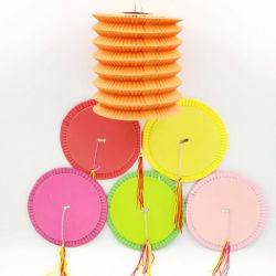 Parte del cilindro de suministro de linterna de papel acordeón chino