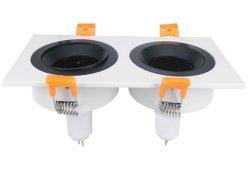 매입형 조명 장착 프레임 스팟 다운라이트 알루미늄 천장 조명 장착 (LED/할로겐/GU10/MR16/PAR16/GU5.3/50mm) 810s-2