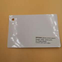 Sounda 광택 있는 방수 잉크 제트 스티커 사진 종이 (SPP200G)