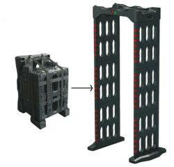 Abnm-300p 3./6 zone di rilevazione impermeabilizzano il metal detector di IP55 Foldbale, metal detector del Archway, metal detector del Doorframe, cancello di progressione, cancello del blocco per grafici di portello