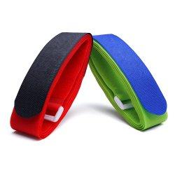 Selbstklebende Magic Hook- und Loop-Träger für Gepäckbindung (HL50180-1)