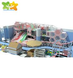 공장 가격 다기능 아이 위락 공원 아이들 연약한 실행 장난감은 실내 운동장 장비를 사용했다
