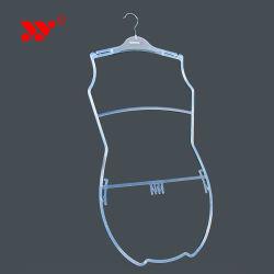 Lingerie Lingerie de crochet de suspension Cintres en plastique noir