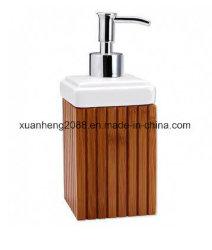 대나무 비누 분배기 액체 비누 펌프 목욕탕 부속품