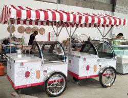 Carrito de helados Helados/venta/carro Carro de Gelato