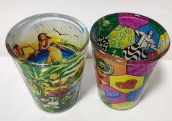 صور تذكارات زجاجية هدايا ترويجية تذكارية سياحية ODM OEM مخصصة