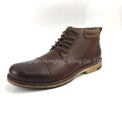 Cuero personalizada de alta calidad Loafer Mens botas zapatos de vestir casual