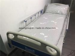 Taille unique T/C 50/50 de l'hôpital médical de literie drap de lit