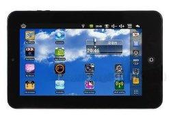 O Tablet PC de 7 polegadas