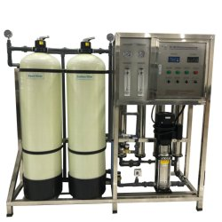 RO 1000L/H Wasser Umkehr Osimose System Wasseraufbereitungs-Anlage Fabrik Preis Wasseraufbereitung Ausrüstung Entsalzung Filter mit Weichmacher Filtration