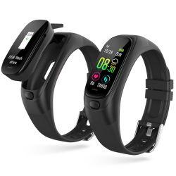 La SCÉ12 32 Go Tracker de remise en forme de lecteur Flash USB Sleep Tracker de la pression artérielle Moniteur de fréquence cardiaque Smartwatch