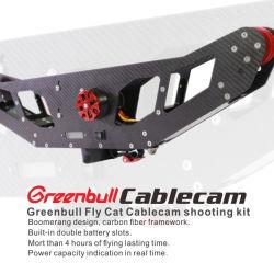 Spitzenmarke Greenbull Flycat Cablecam für Fotographie, Film, Video, Studio-Eintragfaden vom China-Fotographien-Stützgerätehersteller