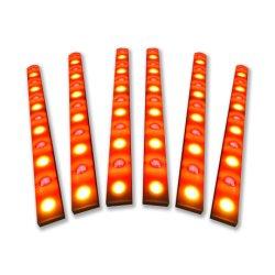 Fabrik-Großverkauf LED 12 Zwei--Ein im Matrix-Wand-Unterlegscheibe-Licht