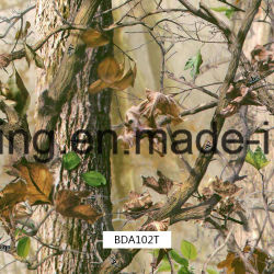 Folhas de Outono enevoada Hydro Dipping filmes para a piscina Intems (BDA102T)