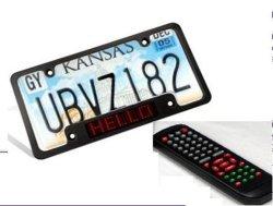 Targhetta display per auto a LED