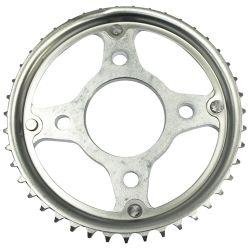 La ISO de calidad Higth motocicleta Rueda de la cadena de la rueda dentada