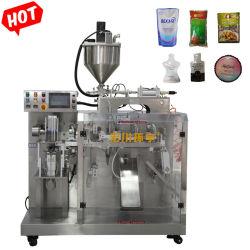 Automatische het Vullen Verzegelende Verpakkende Machine voor Machines van de Verpakking van de Zak Premade van het Deeg van de Saus van de Jam van de Salade van de Spaanse peper van de Tomaat van het Voedsel de Vloeibare