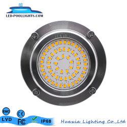 RGB IP68/Blanco/azul/blanco cálido Piscina LED Lámpara Luz subacuática
