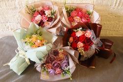 비누 꽃 Valentine′ S 일 주문 크리스마스 창조적인 선전용 선물