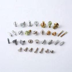 Tipo de cabeza de tornillo máquina personalizada tornillo autorroscante de tornillo de cobre de acero inoxidable cierre para el termostato