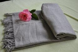 100%Pure Merino Wool Plain Throw (NMQ-WT032)