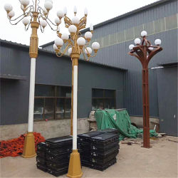 Metallvorhang erhöhter Stativ-Beleuchtung-Preis Pole und Vorhang-Rod-Zylinder
