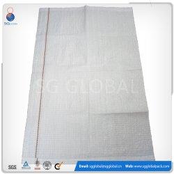20kg 50kg de grains de riz de sacs tissés en PP blanc