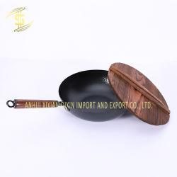 도매 최신 판매 고품질 Handmade 붙지 않는 팬 32cm