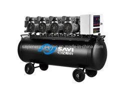 اعتماد CE السعر المباشر باليد الأولى من ضاغط هواء المصنع الضخ صامت النفط الحر ضاغط طبي من عائلة إندوس 120 لتر الخزان ضاغط هواء مخصص