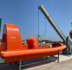 Iacs Goedkeuring 4.0m Kraanbalk van het Wapen van de Boot C/W van de Redding van 6 Mensen GRP de Enige (de Dieselmotor van de Straal van de Buitenboordmotor/van het Water)