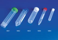 PP 0.5ml, 1ml, 5ml, 10ml, 50ml로 만든 CE 인증 마이크로 원심분리기 튜브