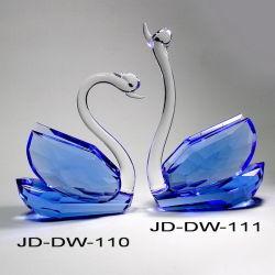 Crystal Swan Crystal cadeau de noces (JD-DW-110-111)