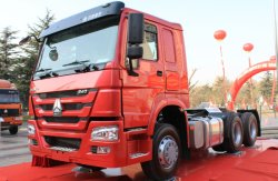 شاحنة سحب جرار من فئة Sindosotruk HOWO 6X4 مركبة جرار