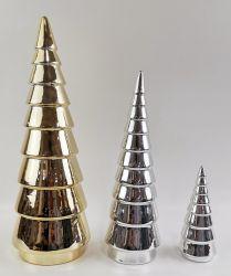 인기 많은 포르셀랭 테이블탑 크리스마스 트리 테이블탑 홈 장식 장식 창의적인 장식 세라믹 크리스마스 트리