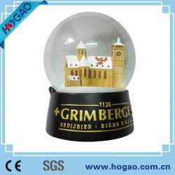 LED de la musique de souvenirs de résine Polyresin Boule à neige (HG-003)
